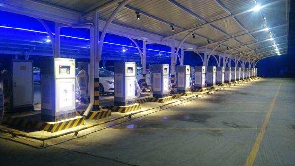新能源充电站