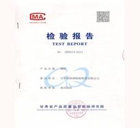 钢模板检验报告