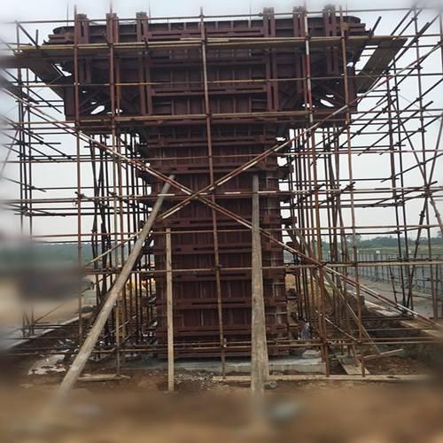 兰州钢模板公司:什么是重力式桥墩台