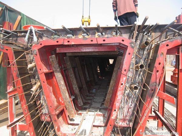 桥梁模板内模加工及安装技术