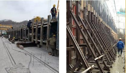 多雨的季节如何养护桥梁钢模板